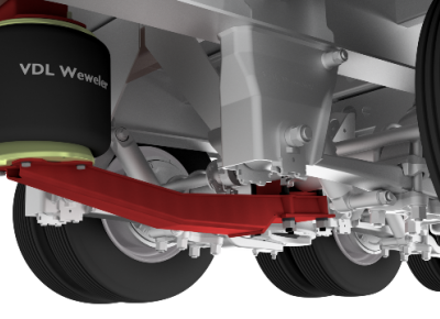 Bolt-on Weweler axle lift